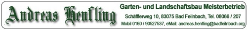 Gartenbau Andreas Henfling